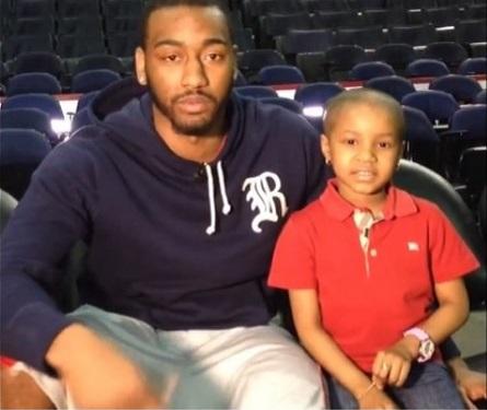 Celebrity Dopeness: John Wall, Nicki Minaj Grant 5 Year Old Cancer Patients Wish