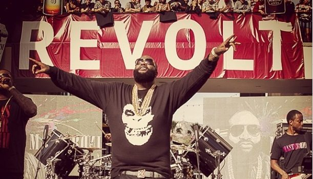 Rick Ross Gives Hollywood Free Concert : Khloe Kardashian & More Famous Folk Spotted