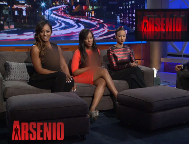 [WATCH] Draya Michele, Malaysia Pargo Bring Shade & Claws to Arsenio Hall