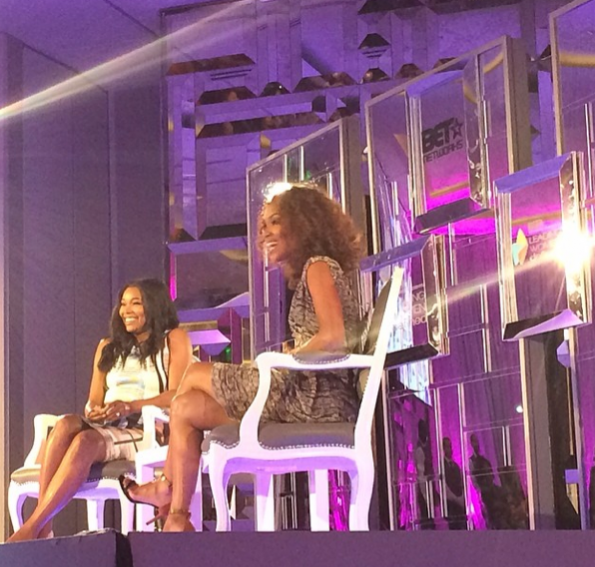 Gabrielle Union-Mara Brock Akil-BET-Leading-Women-Defined-Conference- The Jasmine Brand
