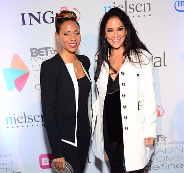 MC Lyte-Sheila E-BET-Leading-Women-Defined-Conference- The Jasmine Brand