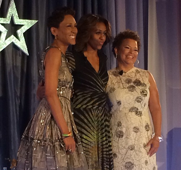 Robin Roberts-Michelle Obama-Debra Lee-BET Conference-2-The Jasmine Brand