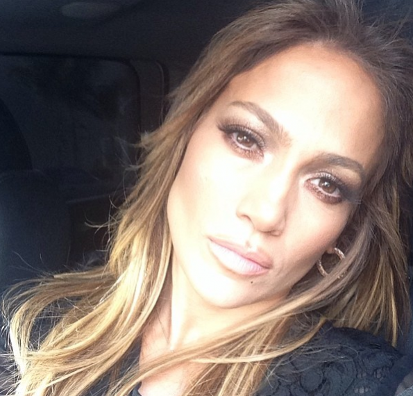 Jennifer Lopez Selfie-The Jasmine Brand