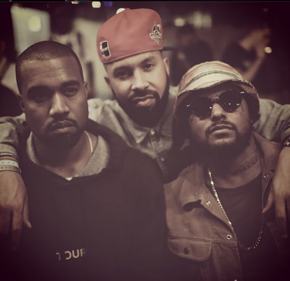 Kenny Burns-Kanye West-Schoolboy Q-SXSW-The Jasmine Brand