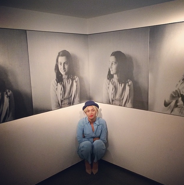 Beyonce-Visits Anne Frank Museum-The Jasmine Brand