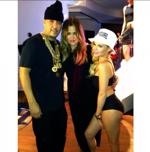 Khloe Kardashian-Chanel West Coast-French Montana-The Jasmine Brand