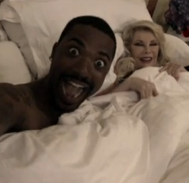 Ray J & Joan Rivers Make Fun of Kim Kardashian's Sex Tape