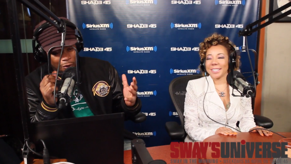 Tiny on Sway In the Morning-The Jasmine Brand