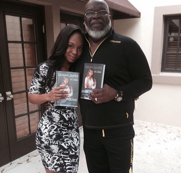 [VIDEO] TD Jakes Daughter, Sarah, Reveals How She Told Her Father She Was Pregnant At 13