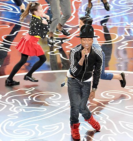 [WATCH] Pharrell Williams Brings 'Happy' Performance to Oscars