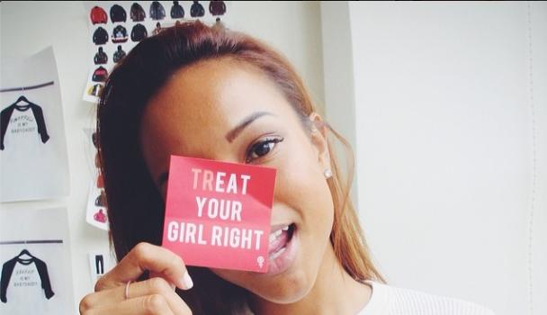 Karrueche Tran Updates Us On Her Relationship Status & She's Not Dating Chris Brown
