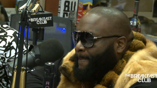 [WATCH] Rick Ross Calls 50 Cent A Donkey + Explains Why He's Not Ready For Marriage On 'The Breakfast Club'
