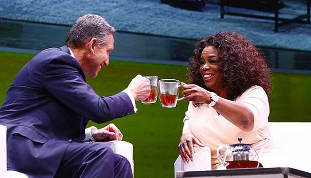 Oprah Invades Starbucks, Announces New Partnership With 'Oprah Chai Tea'