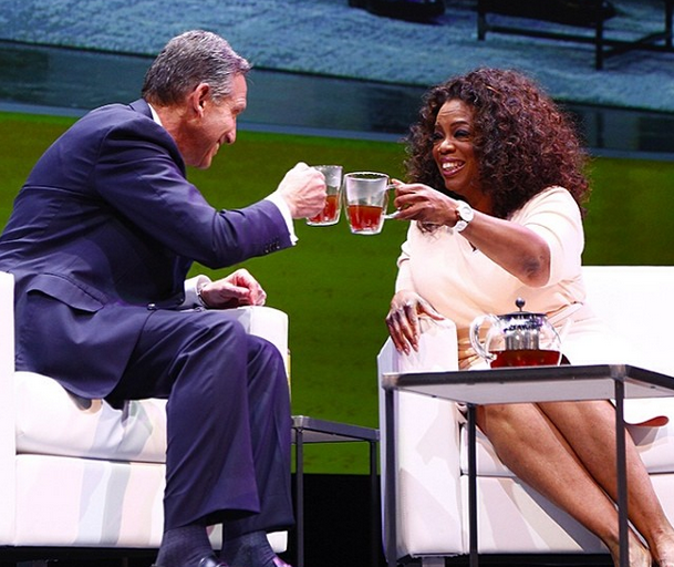 Oprah Invades Starbucks, Announces New Partnership With 'Oprah Chai Tea'