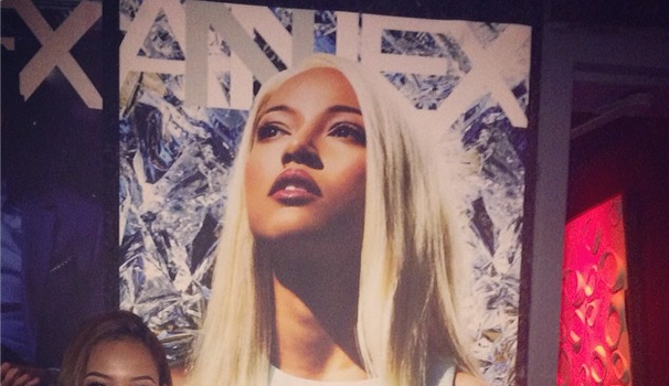 All Smiles! Karrueche Celebrates Annex Mag Cover