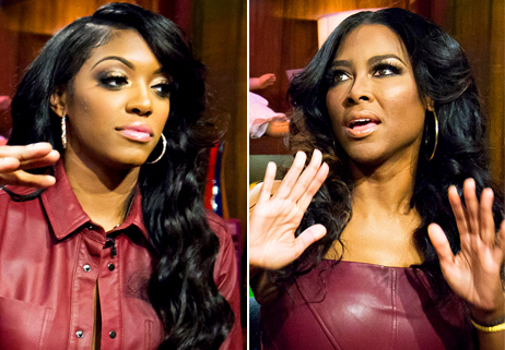 [UPDATE] Kenya Moore & Porsha Williams Fight During Reunion Taping