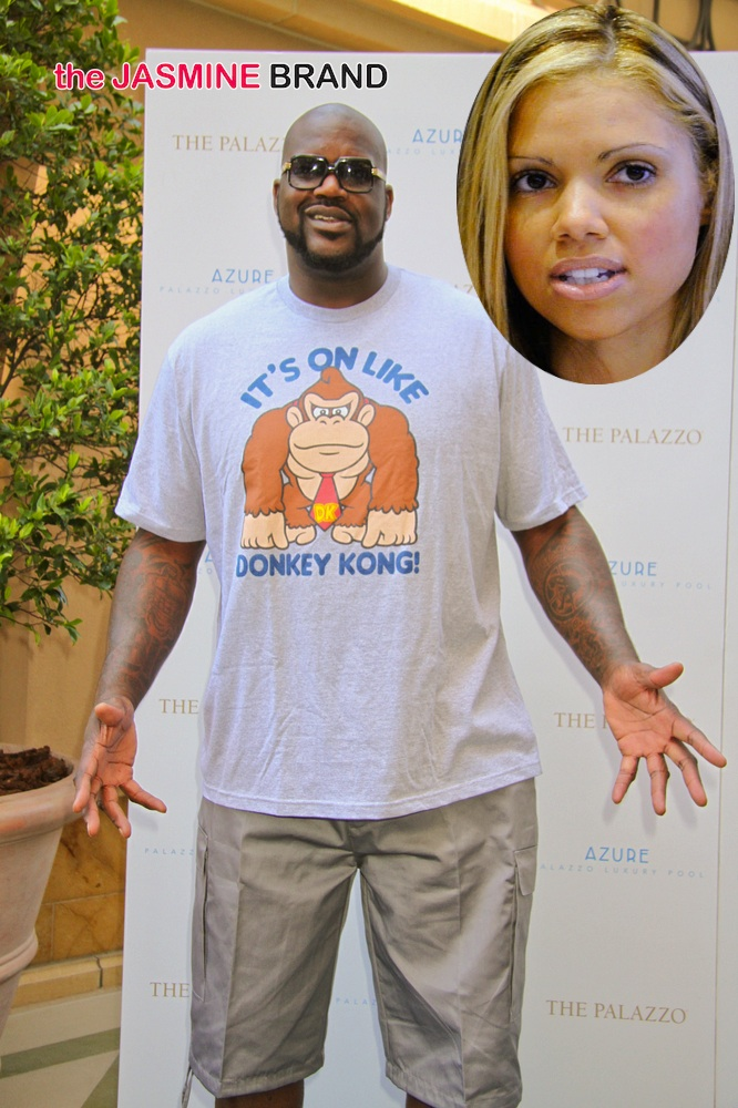 Shaquille O'Neal Hosts Pool Party at Azure Luxury Pool in Las Vegas on August 18, 2013