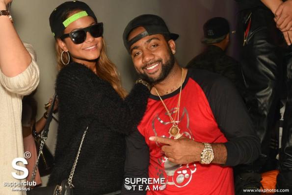 Supperclub - Christina Milian & Jas Prince-the jasmine brand