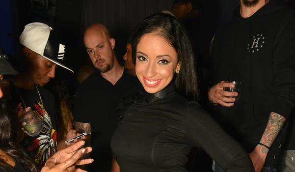 Singer Mya, Shantel Jackson & Christina Milian Hit Hollywood Club Scene