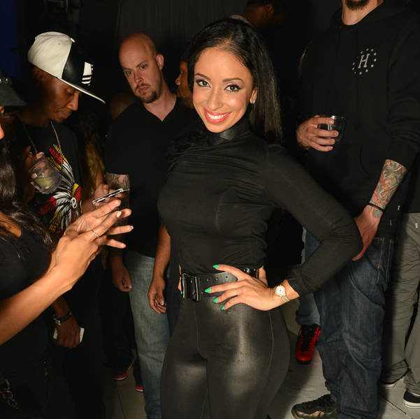 Singer Mya, Shantel Jackson & Christina Milian Hit Hollywood Club Scene
