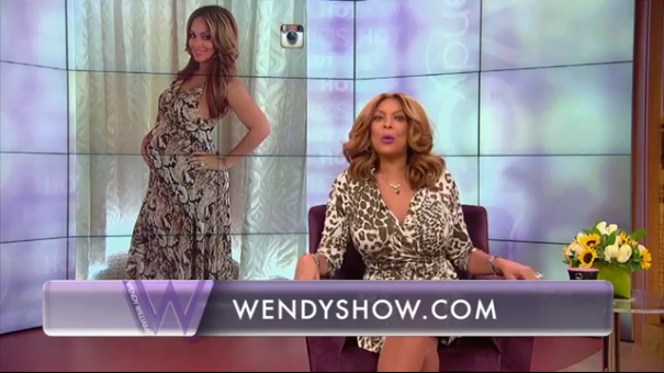 [VIDEO] Evelyn Lozada Snaps After Wendy Williams Calls Newborn A 'Cash Register'