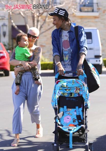 Wiz, Amber & son Sebastian circa 2014