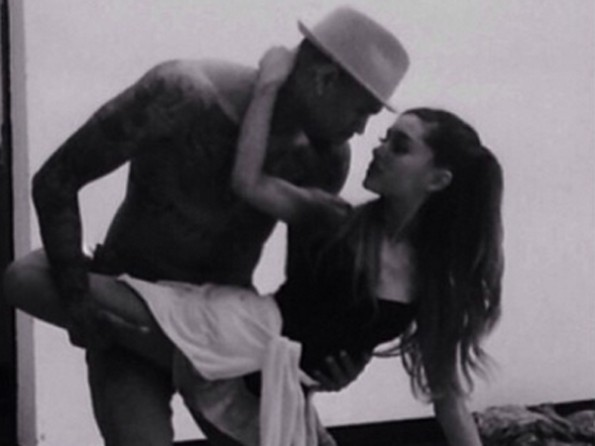 ariana grande and chris brown 2014-the jasmine brand