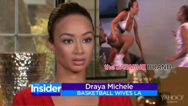 [VIDEO] Draya Michele Says She's Embarrassed About Physical Fight With Sundy Carter