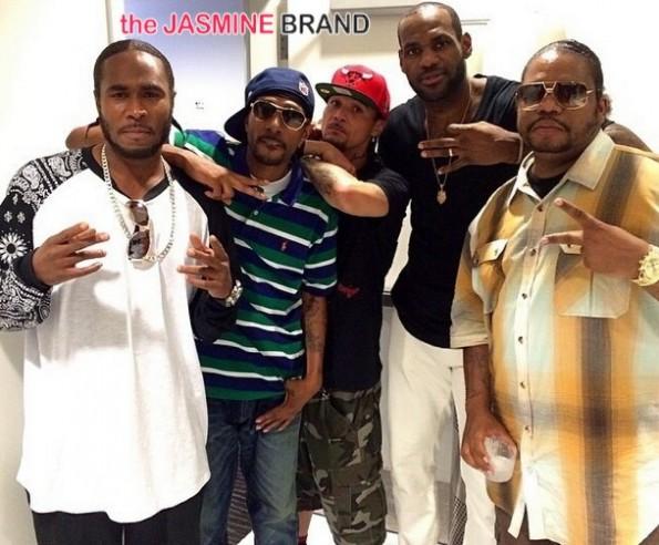 bone thugs harmony-christopher bosh-30th birthday-cirquedunoir 2014-the jasmine brand