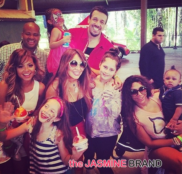 christina milian-daughter violet 4th birthday 2014-the jasmine brand