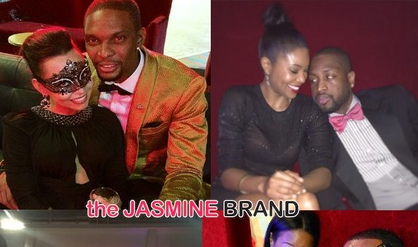 [Candids] Chris Bosh Throws Cirque DuNoir 30th Bash: Savannah & LeBron James, D.Wade & Gabrielle Union Attend
