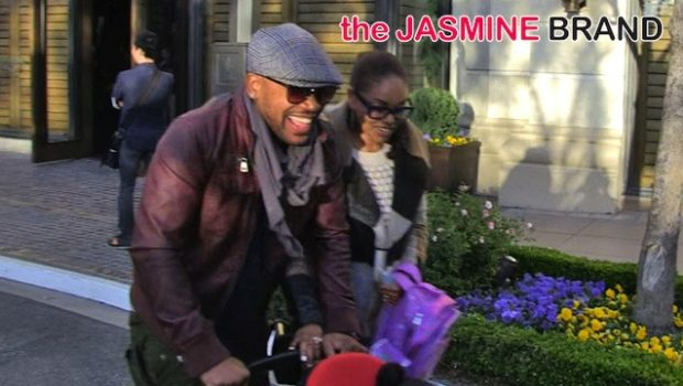 Columbus Short Makes 1st Public Appearance, Kelly Rowland Hits NYC in Full Length Fur, Jada Pinkett-Smith Films 'Gotham' + More Celebrity Stalking