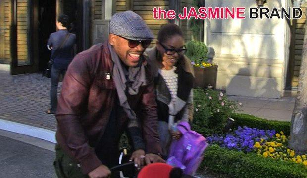 Columbus Short Makes 1st Public Appearance, Kelly Rowland Hits NYC in Full Length Fur, Jada Pinkett-Smith Films 'Gotham' + More Celebrity Stalking