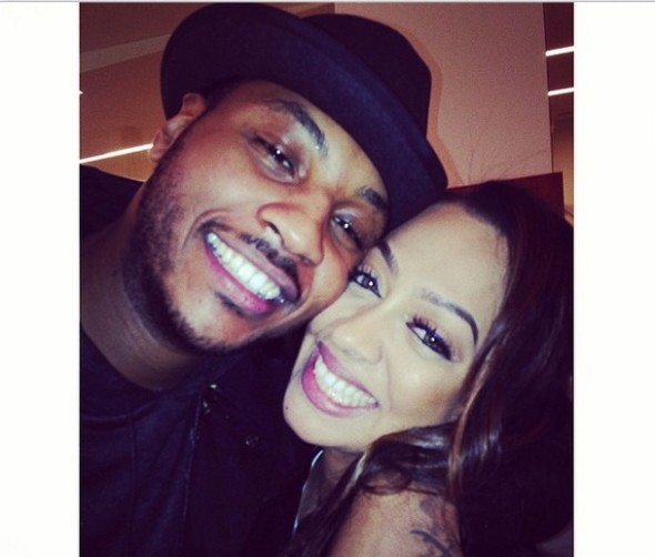 "Lala & Carmelo Anthony Caught Making Out At NYC Event – ""We're Figuring Out How To Make It Work"""
