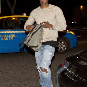 Dave Chappelle was seen arriving to DBA Nightclub in West Hollywood, CA