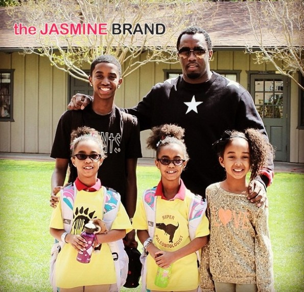 diddy family photo 2014-the jasmine brand