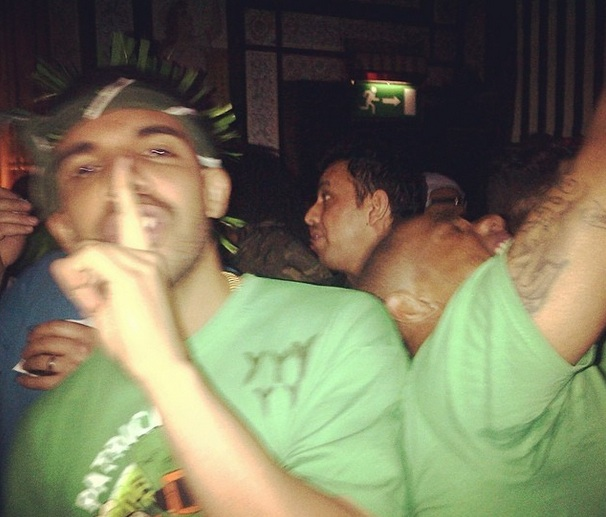 Drake Gets St. Patty's Day Wasted in Dublin