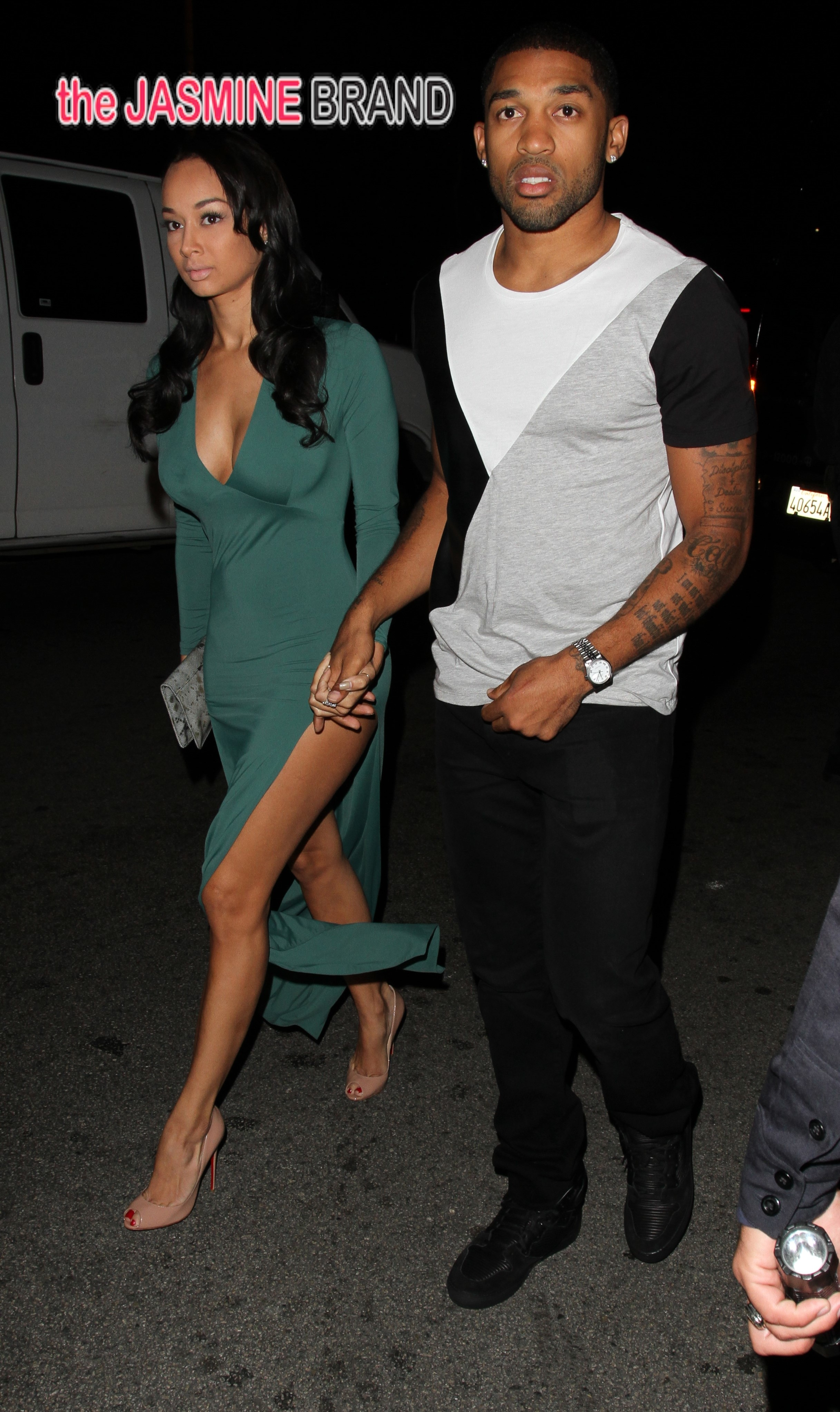 Draya Michelle at Greystone Manor in West Hollywood