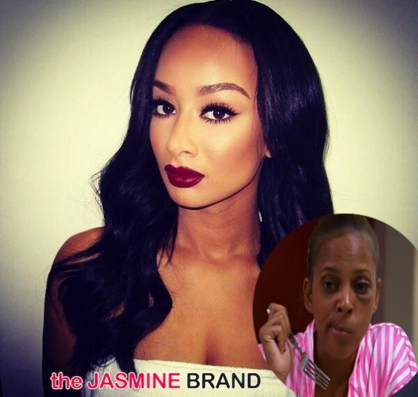 draya michele-sundy carter-black eye brawl-the jasmine brnd
