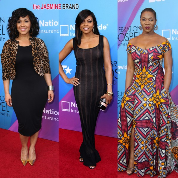erica campbell-taraji p henson-india arie-bet gospel celebration 2014-the jasmine brand