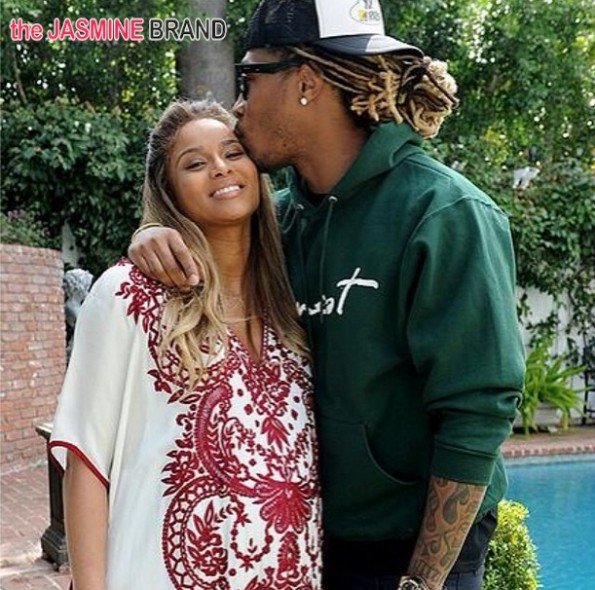 Ciara and Future at their baby shower