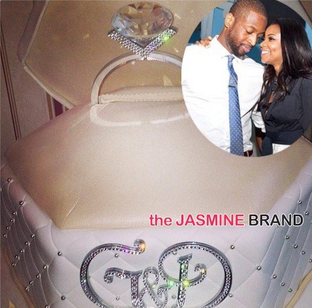 [Photos] Gabrielle Union & Dwyane Wade Celebrate Engagement Party