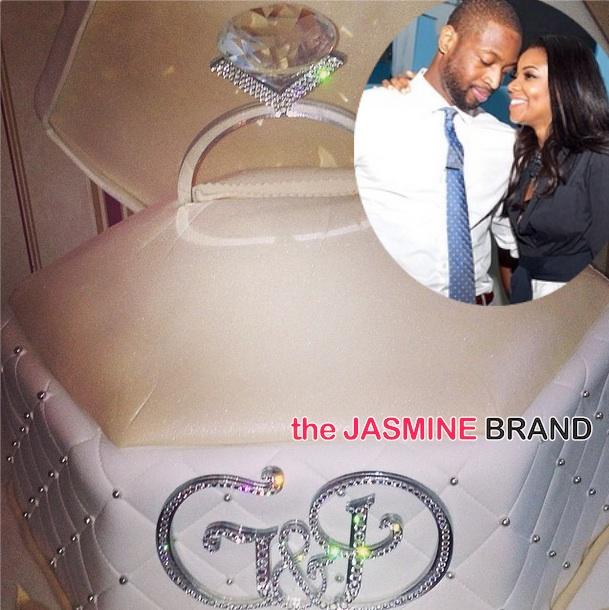 Photos] Gabrielle Union & Dwyane Wade Celebrate Engagement Party