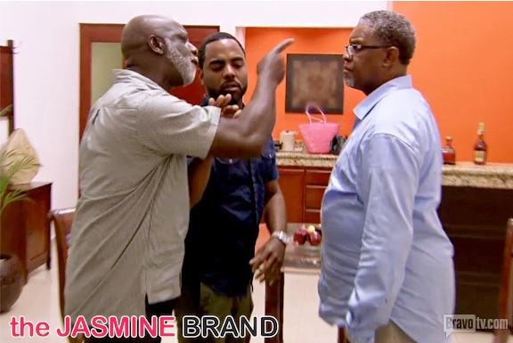 greg leakes-confronts peter thomas-real housewives of atlanta-the jasmine brand