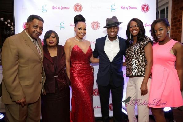 group shot-neyo family-atlanta exes-monyetta shaw-heels of greatness 2014-the jasmine brand