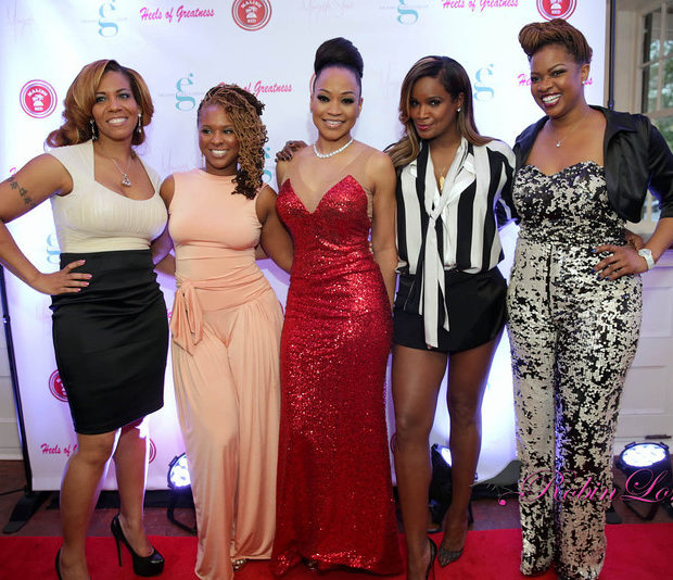 Girl Power! 'Atlanta Exes' Monyetta Shaw Hosts 'Heels of Greatness' With NeYo, Keshia Knight Pulliam, Tameka Raymond & More Famous Folk