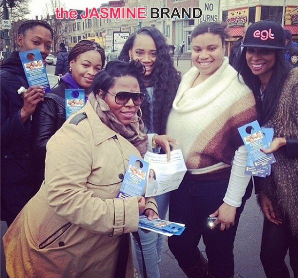 group shot-yandy smith-tionna smalls-the affordable care act-get covered tour-nyc 2014-the jasmine brand