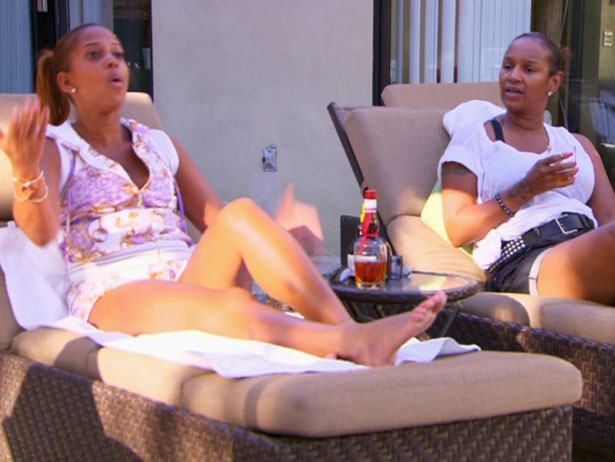 [VIDEO] Sundy & Brandi Attempt To Reunite Cast + Watch Basketball Wives LA, Episode 5