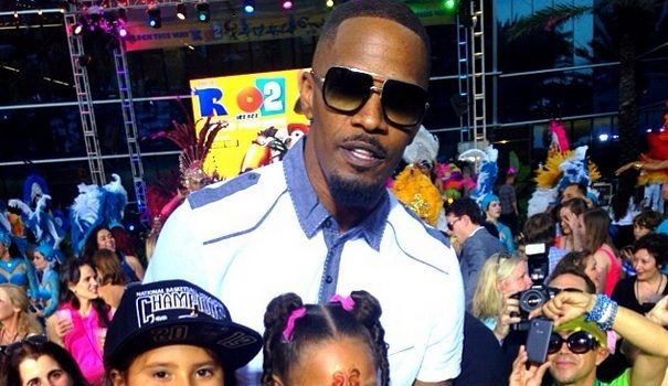 Miami Gives Jamie Foxx Keys to the City + Rio 2 Cast Throws HUGE Concert With Janelle Monae & Ester Dean