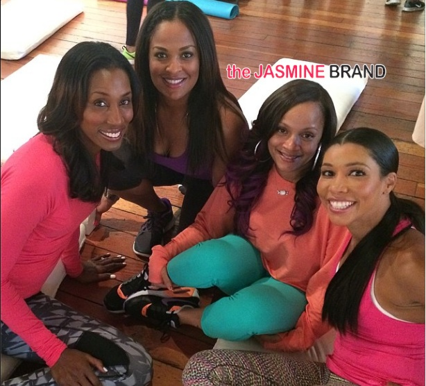 LL Cool J's Wife, Designer Simone Smith, Hosts Wellness Birthday With Jeanette Jenkins, Neicy Nash, & Famous Friends